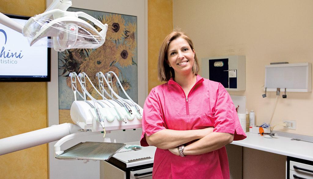Sig.ra Arabella Sabba assistente dentale Studio Dentistico Bianchini Rimini