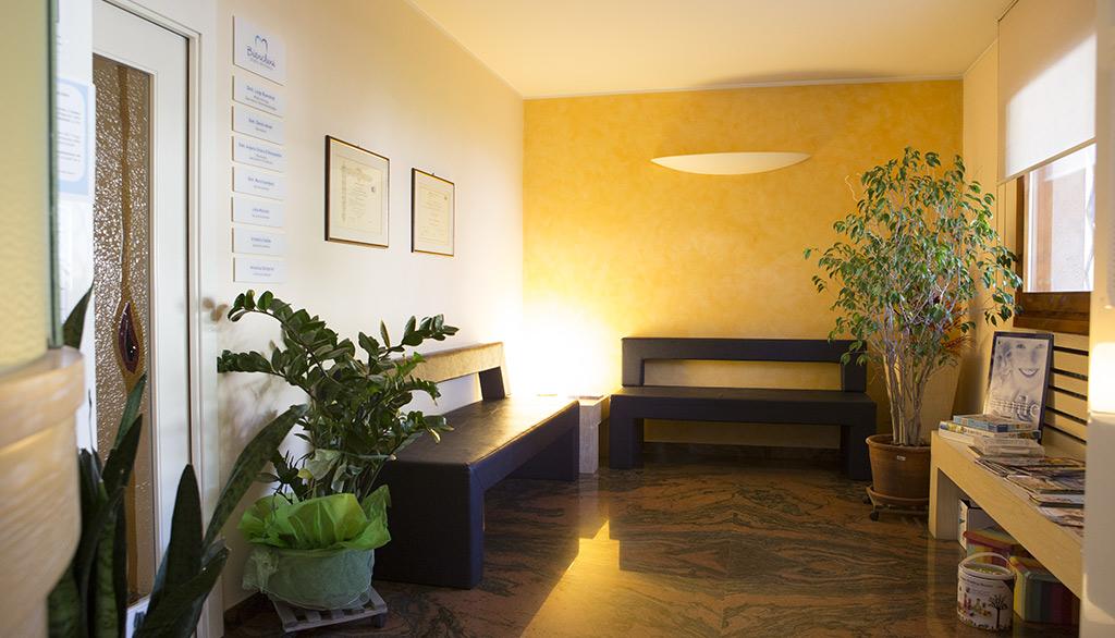 Sala d'attesa - Studio dentistico Bianchini Rimini